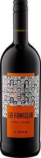 """Vino Rosso """"La Famiglia"""" - 1 Liter"""