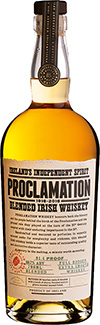 Proclamation Blended Irish Whiskey