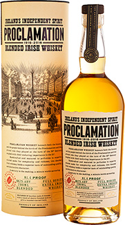 Proclamation Blended Irish Whiskey in Tube