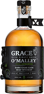 Grace O'Malley Dark Char Cask Whiskey