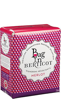 Bag in Berticot Merlot IGP