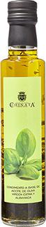 Aceite de Oliva Virgen Extra con Albahaca