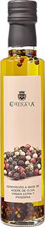 Aceite de Oliva Virgen Extra con Pimientas