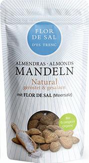 Almendras con Flor de Sal Natural- Bio -