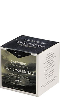 Birch Smoked Salt - Meersalzflocken geräuchert