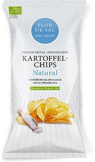 Chips mit Flor de Sal d'Es Trenc Natural - Bio