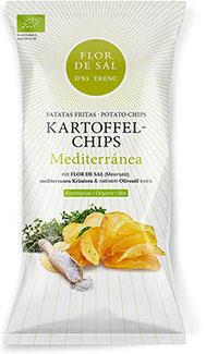 Chips mit Flor de Sal d'Es Trenc Mediterranea- Bio