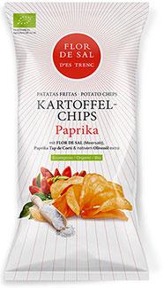 Chips mit Flor de Sal d'Es Trenc Tap de Corti- Bio