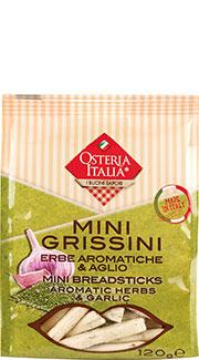 Mini Grissini con Erbe aromatiche e Aglio