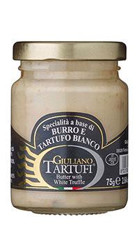 Specialità a base di Burro e Tartufo Bianco