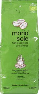 MariaSole Linea Verde (ganze Bohnen) - Bio -