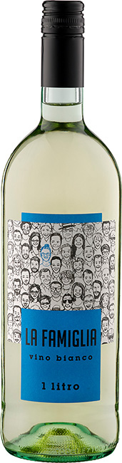 """Vino Bianco """"La Famiglia"""" - 1 Liter"""