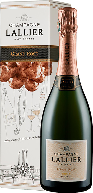 Grand Rosé Grand Cru - in Geschenkkartonage -