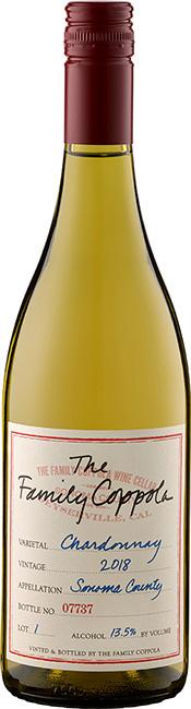 The Family Coppola Sonoma County Chardonnay