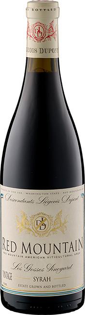 DLD Syrah Red Mountain - Les Gosses Vineyard