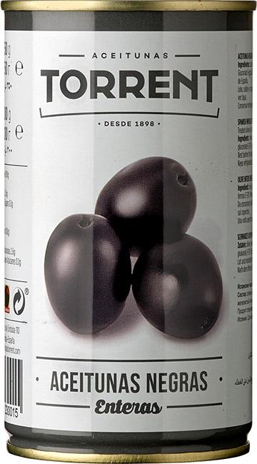 Aceitunas Negras con Hueso