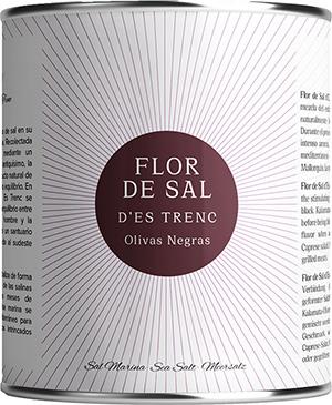 Flor de Sal Aceituna Negra - Bio -
