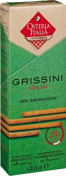 Grissini Stirati con Rosmarino