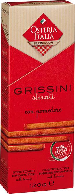 Grissini Stirati con Pomodoro