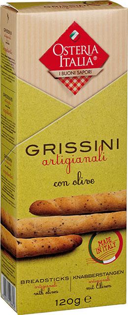 Grissini Artigianali con Olive