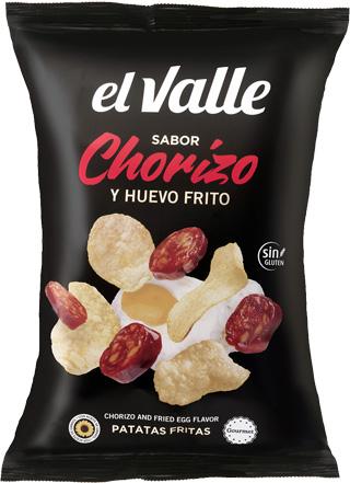 Patatas Fritas Chorizo