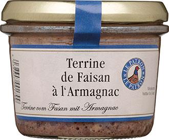 Terrine de Faisan a l' Armagnac