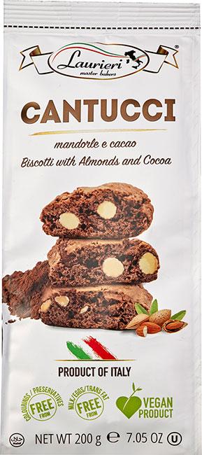 Cantucci con Mandorle e Cacao