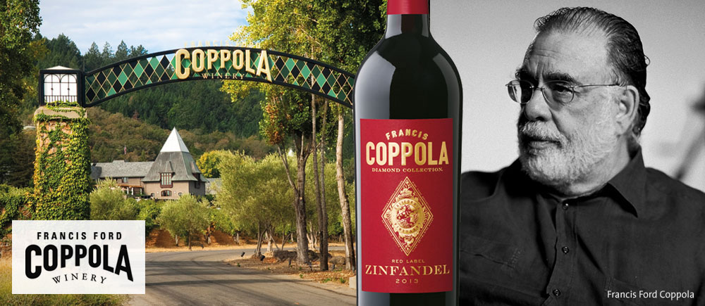 francis ford coppola winery weine aus bersee napa valley. Black Bedroom Furniture Sets. Home Design Ideas