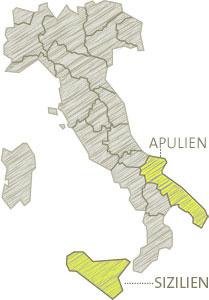 Sizilien - Apulien